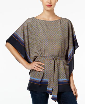 MICHAEL KORS Michael Michael Kors Printed Kimono Top. #michaelkors #cloth # tops