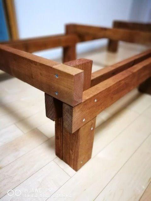 Diy ウッドデッキの作り方 1 4 2 4の木材だけで完全自作