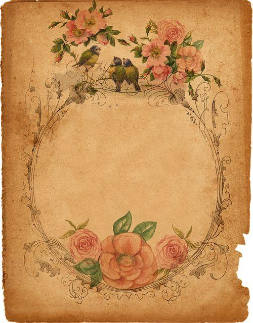 Immagine gratis su Pixabay - Sfondo, Pergamena, Romantico, Carta
