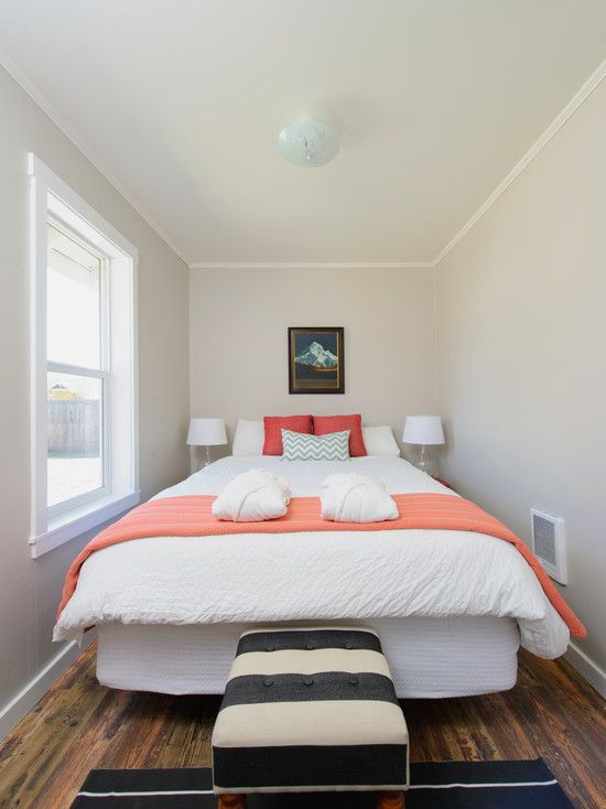 Superior Enchanting And Cool Bedroom Designs For Small Rooms: Alluring And Cool  Bedroom Designs For Small Rooms Also Queen Size Bed With White Thick Quilt  Au2026 ...