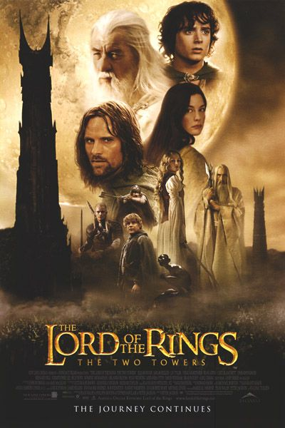 LotR 30 day challenge day 7: Film you've seen the most times. The Two Towers