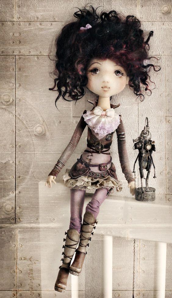 YanasToys -  blog of great russian doll artist #steampunk - ☮k☮