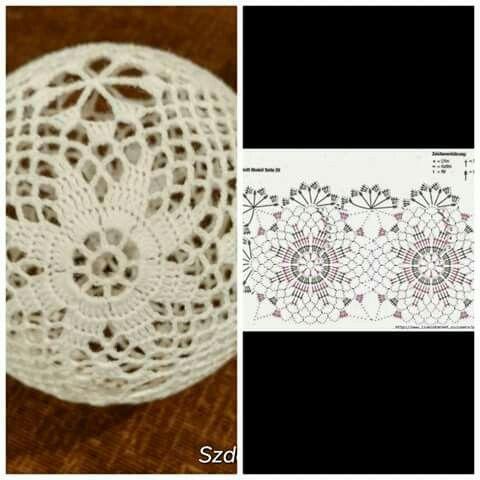 Bombki Szydelkowe Schematy Wzor 1 8 Christmas Crochet Crochet Christmas Ornaments Crochet Xmas