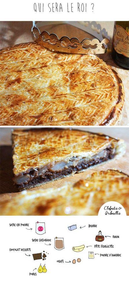 galette poire chocolat