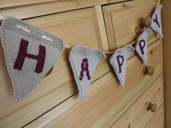 Ravelry: Party Bunting pattern by Jo Shaw: Diy Knitting, Crafty Tips, Photo Tutorial, Crafty Affairs, Ravelry Pattern