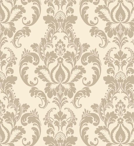 Vintage Bedroom Accessories Uk Dark Accent Wall Bedroom Bedroom Curtain Ideas Pinterest Bedroom Ideas Nz: Victorian Vintage Beige Floral Damask Wallpaper
