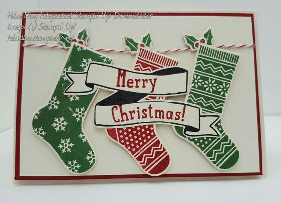 Hang Your Stocking Stampin' Up!: