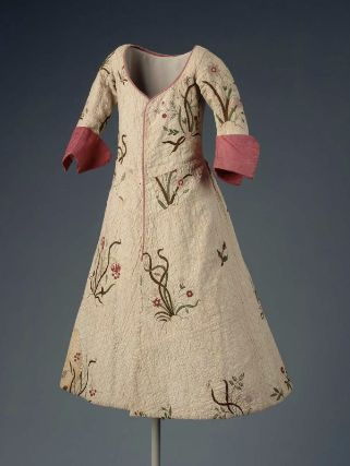 Girl's Coat 1720, British, Made of cotton and silk