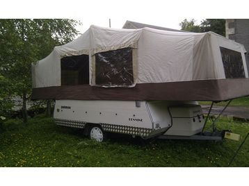 Brilliant Kompact Kamp MiniMate Motorcycle Camper Trailer Setup  YouTube