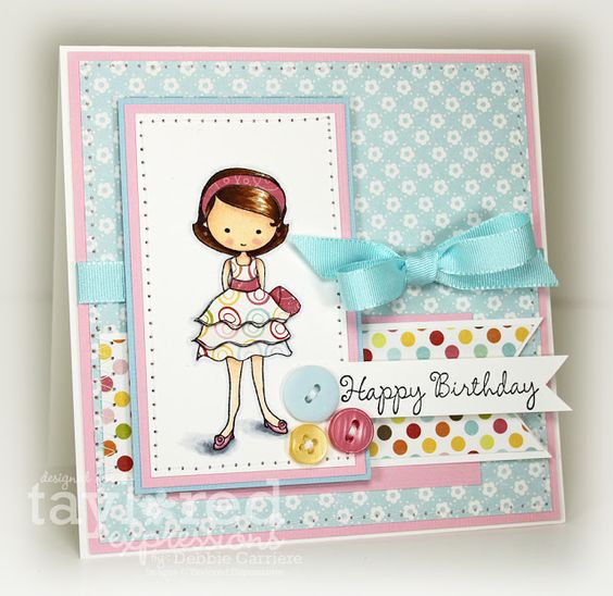 Card by Debbie Carriere