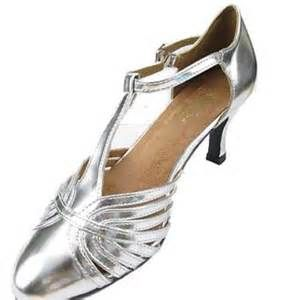 Silver 1920s Style Shoes-Gatsby Shoes #gatsby #tstrapshoes # ...