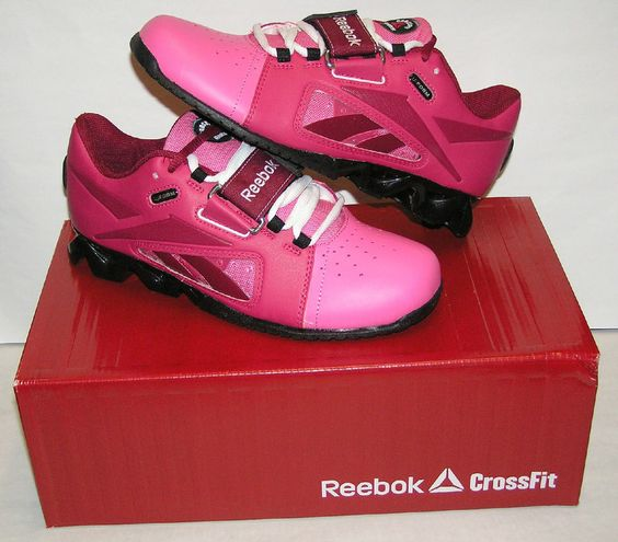 reebok crossfit oly u form lifter s shoes pink pink
