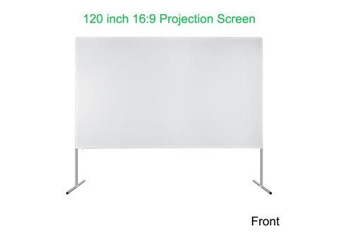 Ezapor Outdoor Screen 120 Inch 16 9 4k Ultra Hd Ready Portable Foldable Movie Theater Projector Sc Best Projector Screen Home Cinema Projector Projector Screen