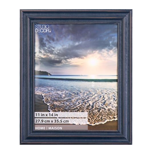True Blue Frame Home By Studio Decor 11 X 14 Michaels Decor Picture Wire Large Photos