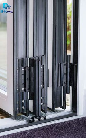 Double Glazed Designer Series Aluminium Bi Fold Door Aluminium Glass Folding Door As2047 Folding Glass Doors Folding Glass Patio Doors Bifold Patio Doors