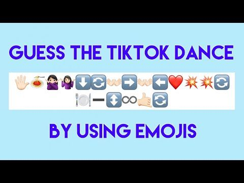 Guess The Tiktok Dance By Using Emoji Youtube Young Thug Album Music Songs Songs