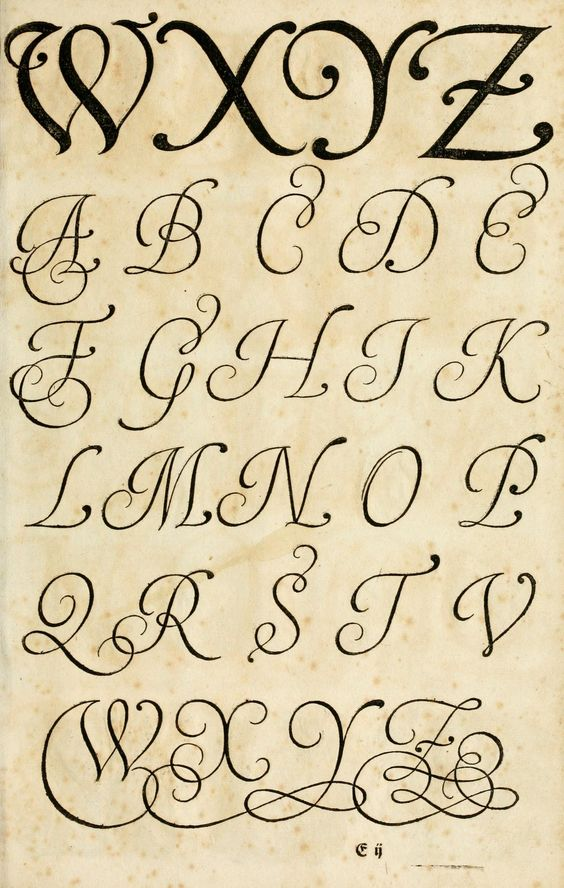 17th century German book on the art of writing: The Proper Art of Writing, a compilation of all sorts of capital or initial letters of German, Latin and Italian fonts from different masters of the noble art of writing. Published 1655 by Bey Paulus Fürsten Kunsthändlern daselbst in Nürnberg.