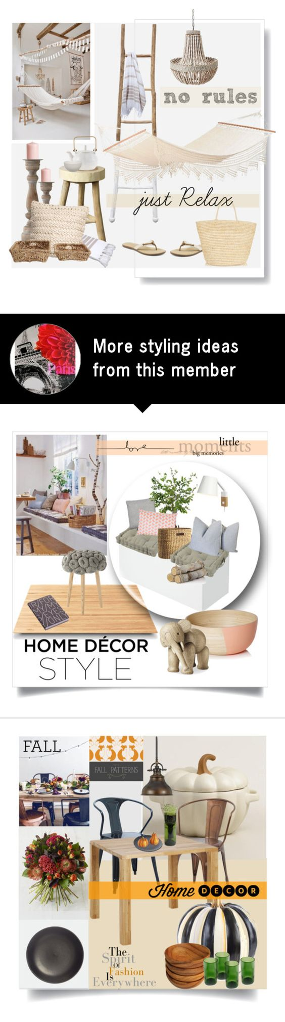 """""""Relax corner"""" by fishetta on Polyvore featuring interior, interiors, interior design, home, home decor, interior decorating, Dot & Bo, Amazonas, Jamie Young and Bloomingville"""