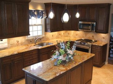 Traditional nice and design on pinterest for L shaped kitchen designs with island gallery
