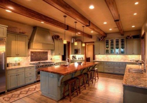 Hill Country Craftsman Kitchen contemporary kitchen