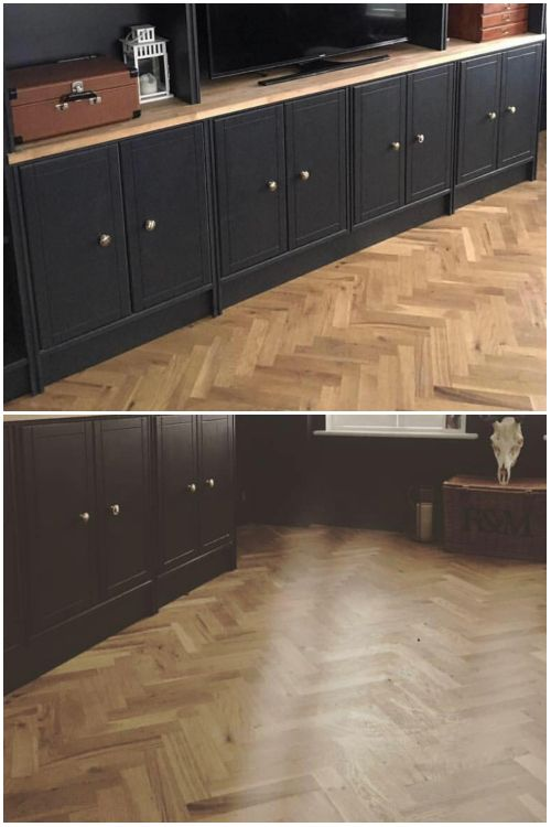 Unfinished Parquet Oak Solid Wood Flooring In 2020 Solid Wood