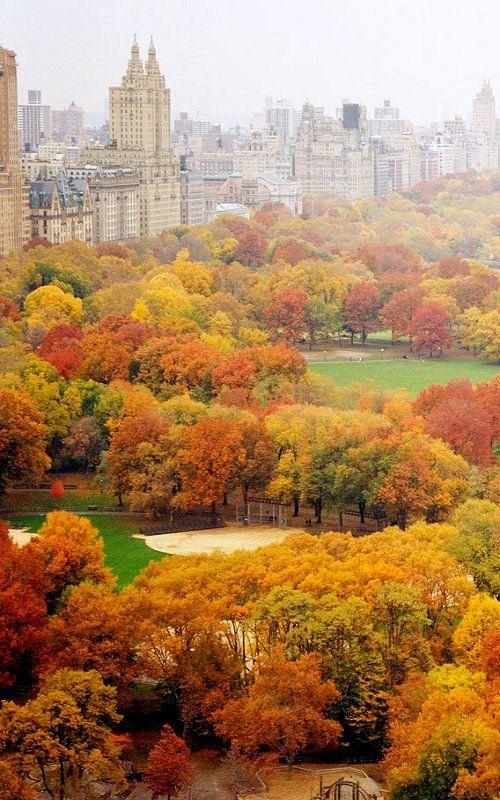 Nueva York y otoño, combinación impecable. Love it so much