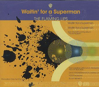 """For Sale - The Flaming Lips Waitin' For A Superman USA Promo  CD single (CD5 / 5"""") - See this and 250,000 other rare & vintage vinyl records, singles, LPs & CDs at http://991.com"""