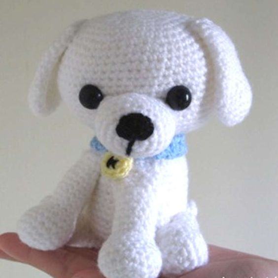 Amigurumi Dog Knitting Patterns : Pinterest The world s catalog of ideas