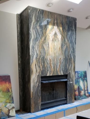 Pin By Laszlo King On Fireplace In 2020 Contemporary Fireplace