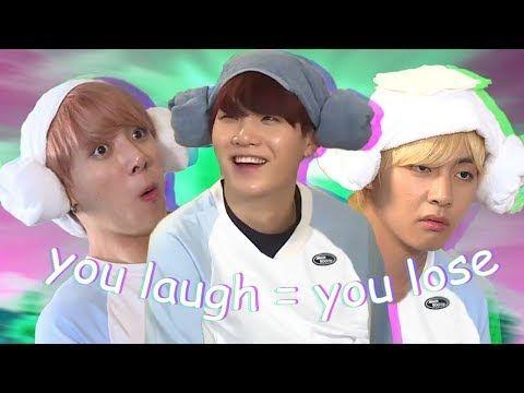 Bts Try Not To Laugh Challenge Hard Youtube Merken