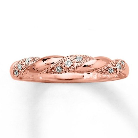 Thin Rose Gold Wedding Ring For Women