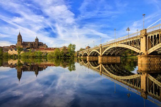 Rio Tormes, Salamanca  #CastillayLeon #Spain