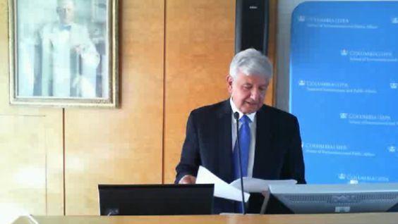 """""""En México no hay democracia"""": Discurso íntegro de AMLO en la Universidad de Columbia"""