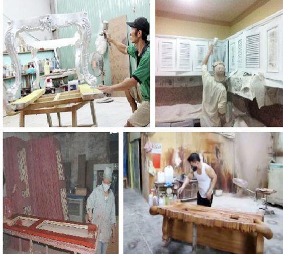 Công ty sơn đồ gỗ tại Hà nội