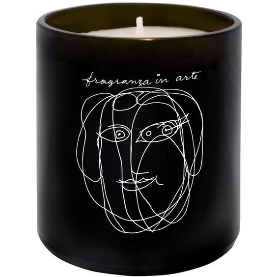 Maison Bereto Home Pavillon Art Collection Scented Candle (€59) ❤ liked on Polyvore featuring home, home decor, candles & candleholders, scented candles, flower scented candles, flower candle, flower stem and garden candles