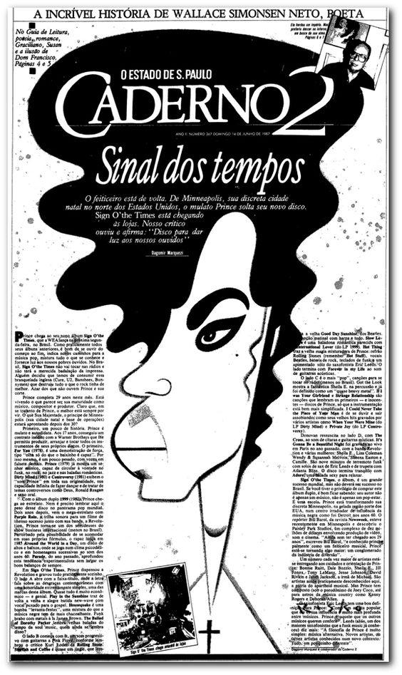 Prince, um astro sexy e provocante - noticias - O Estado de S. Paulo - Acervo Estadão