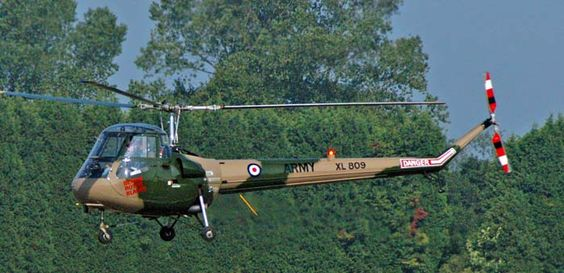 "The Saro Skeeter was designed in 1948 by the Cierva Autogiro Company, the first prototype flew on the 8th of October 1948, production aircraft were were eventually built by Saunders-Roe (""Saro"") in Cowes and Southampton in England following their takeover of Cierva in 1951, a total of approximately 80 helicopters being produced, 64 of which were supplied to the British Army."