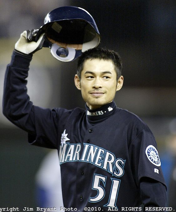 Major League Baseball Players | Japanese Major League Baseball Players | Jim Bryant Photography