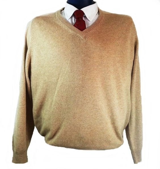 Never too early for a deal on a great Christmas gift. Alexander Julian Colours Sweater 100% Cashmere Camel  Size Large