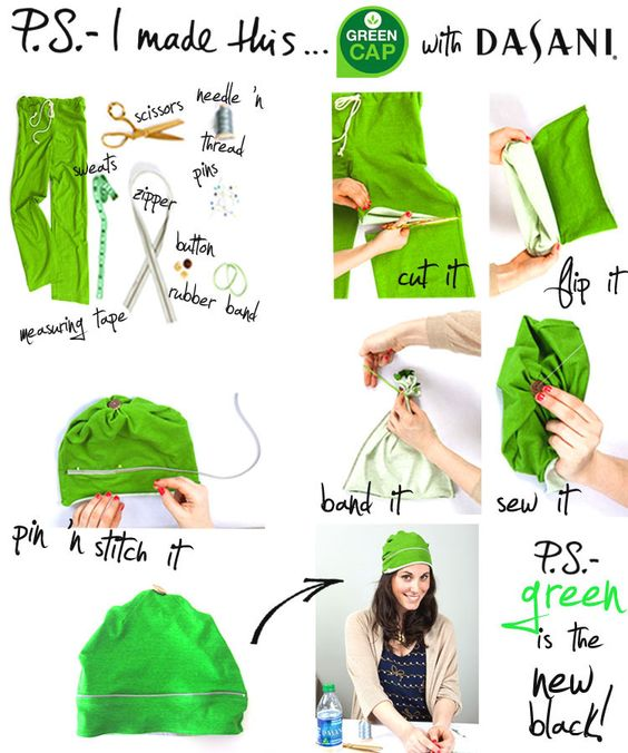 Creative Ways to Repurpose old Sweatpants | ecogreenlove