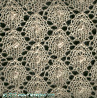 Knitting Nupp Stitch : Knitting stitches, Stitches and Knitting on Pinterest