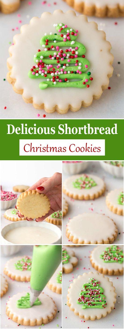 Delicious Shortbread Christmas Cookies