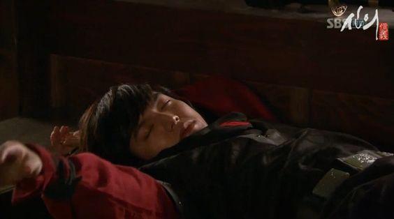 Sleeping Daejang.