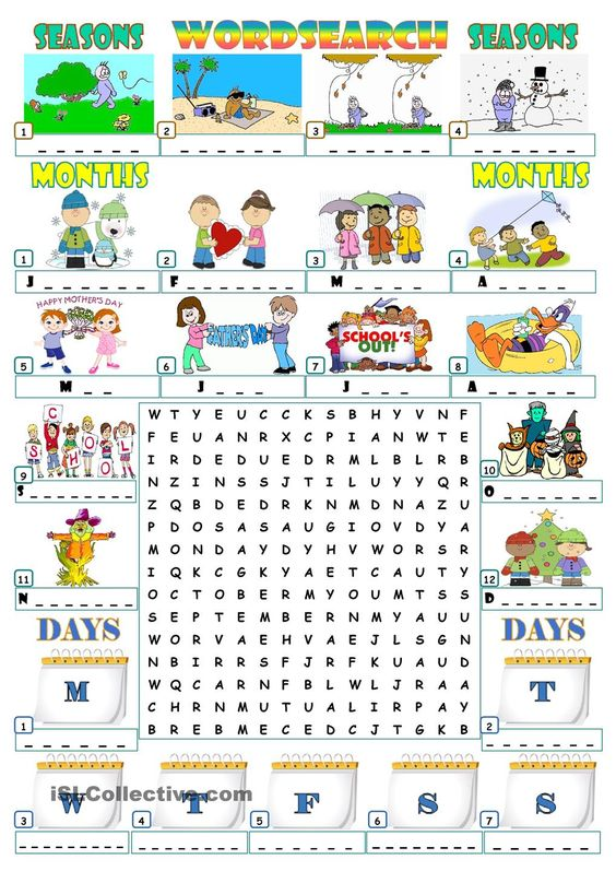 Number Names Worksheets month spelling in english : Pinterest • The world's catalog of ideas