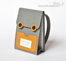Bettys Crafts: Rucksack-Tischkärtchen