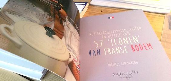 Deze week is mijn boek '57 iconen van Franse bodem' aangekomen op Hollandse grond. Ik hoop hem zelf deze ochtend te mogen ontvangen. Erg leuk, spannend en ook wel nerveus kijk ik daar naar uit. Je ...