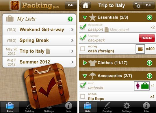 smartphone travel tips