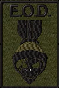 OMLpatches.com - EOD the bomb 2 Patch, $6.50 (http://www.omlpatches.com/eod-the-bomb-2-patch/)