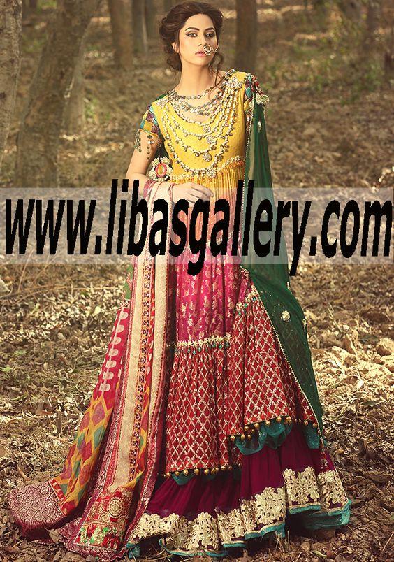 See Peace here &gt www.libasgallery.com - Pakistani Bridal Wear ...