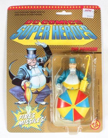 Lot # : 57 - Toy Biz DC Heroes Penguin Sealed on Card